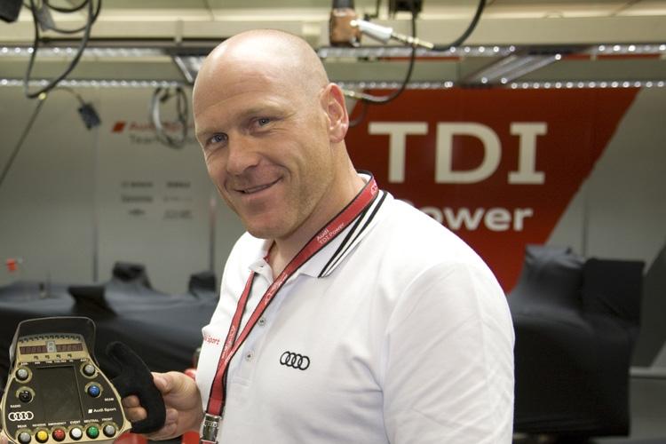 Didier Cuche Im Audi R8 Lms Ultra