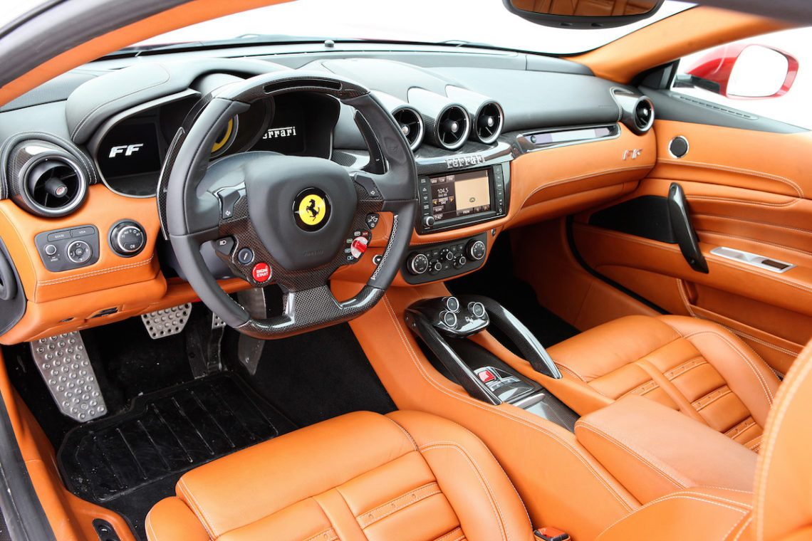 Ford Transit 250 >> Fahrbericht: Ferrari FF