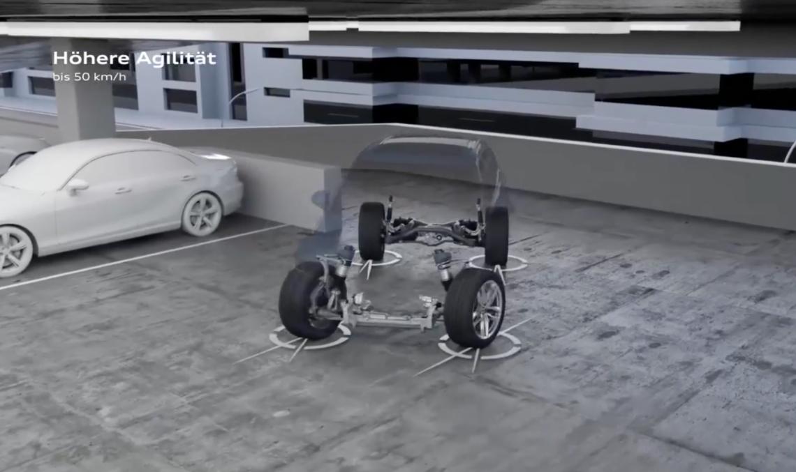 So Funktioniert Die Allradlenkung Im Neuen Audi Q7