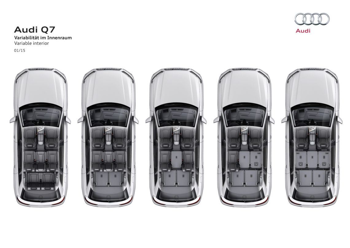 Fahrbericht: Audi Q7 - auf Testfahrt durchs Wallis.