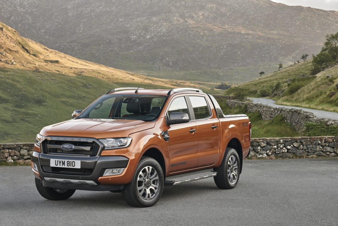 der ford ranger nach facelift ziemlich bullig. Black Bedroom Furniture Sets. Home Design Ideas