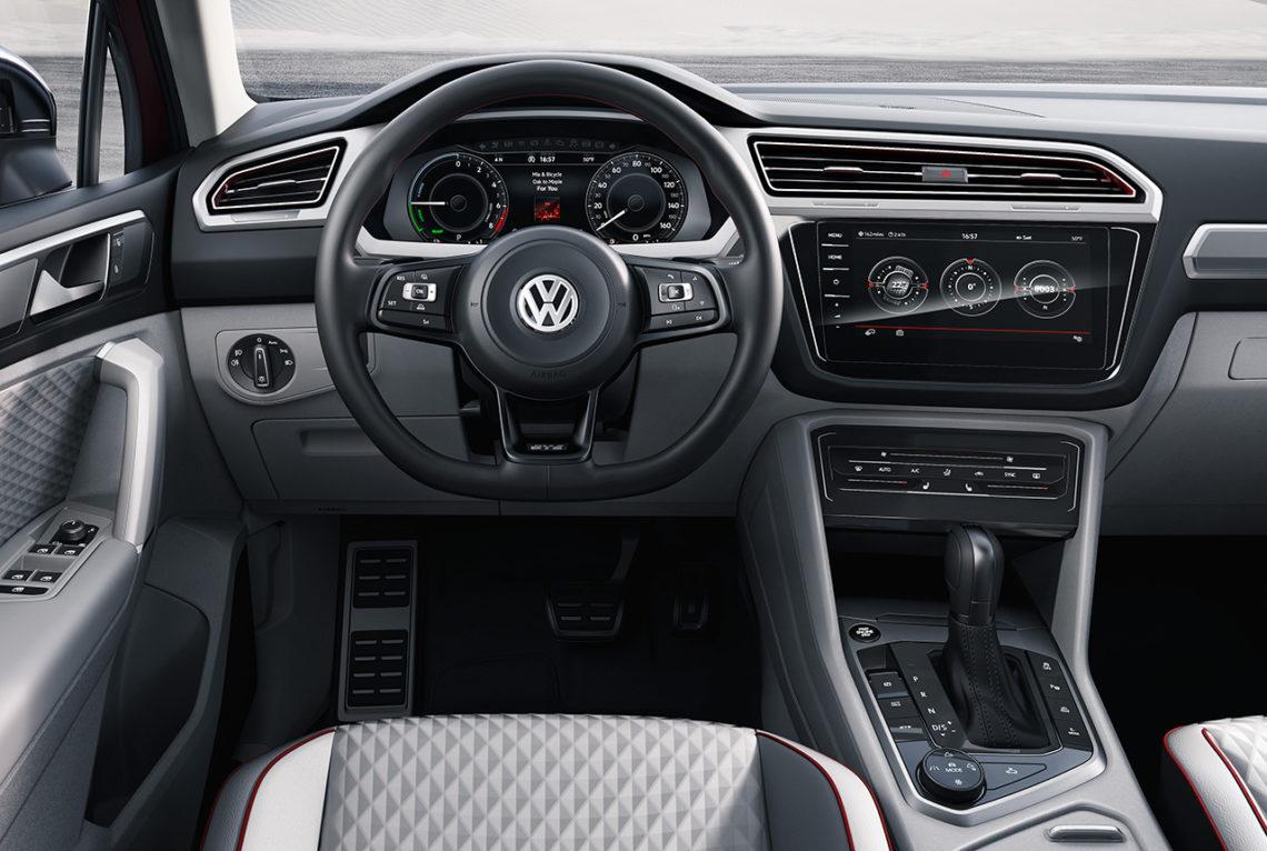 Vw tiguan gte active concept der vielseitige suv allrounder - Volkswagen tiguan interior ...
