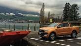 4x4Schweiz-News: der neue Ford Ranger Pick-up vor See