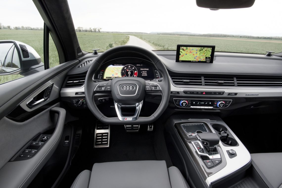 Audi SQ7 TDI, das stärkste Diesel-SUV der Welt