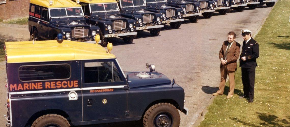 Land Rover Series III, Coastguard 1976