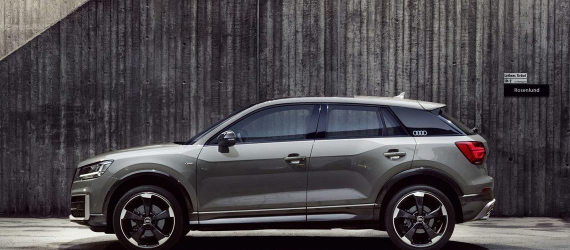 4x4Schweiz-News: Audi präsentiert den Audi Q2 Edition#1, ausschliesslich in Quantumgrau erhältlich