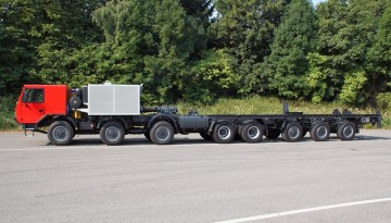 Das Nutzfahrzeug soll für Probebohrungen genutzt werden