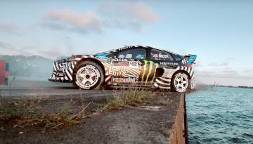 4x4Schweiz-Videos: Ken Block in Gymkhana Nine mit dem Ford Focus RX