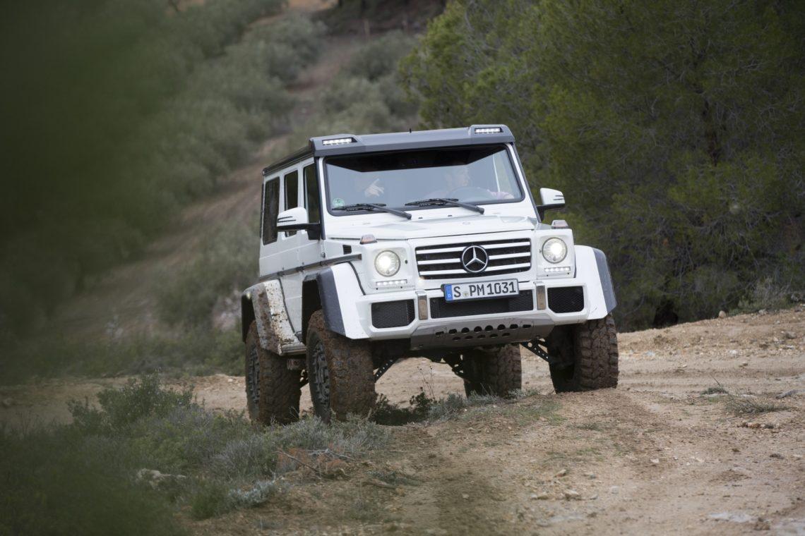Mercedes benz g 500 4x4 die ultimative g klasse for Mercedes benz 4 x 4