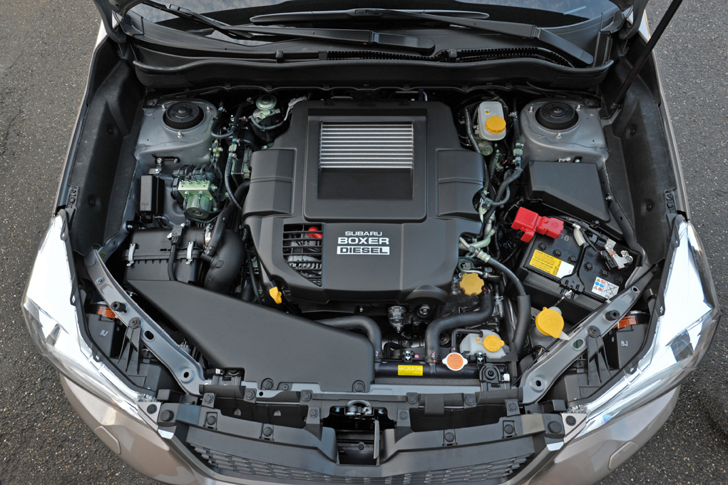 Subaru Forester Boxer Diesel 2015 Jetzt Mit Lineartronic