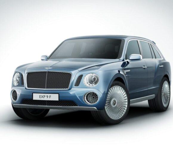 Bentley SUV EXP 9 F
