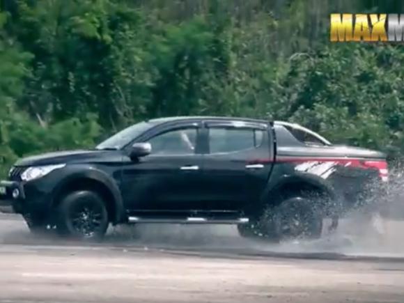 Mitsubishi Pick-up Testdrive
