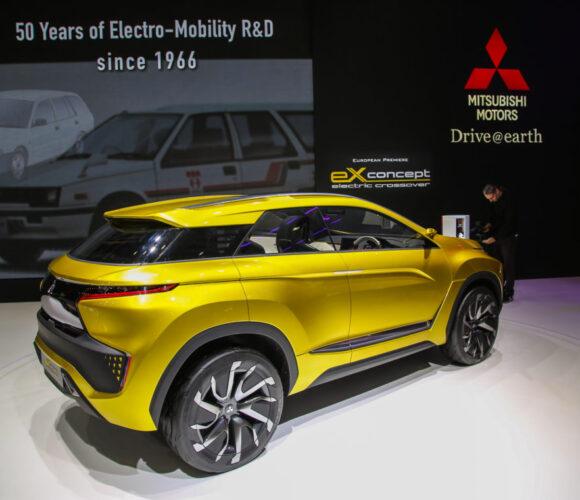 Mitsubishi eX Studie, Autosalon Genf 2016