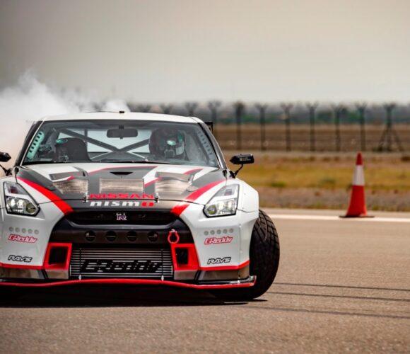 Nissan GT-R Drift Weltrekord