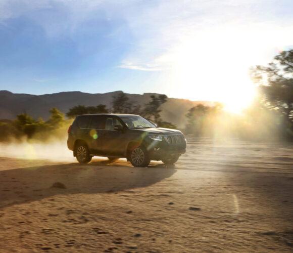 JENSEITS DER STRASSEN INAFRIKA mit dem Toyota Land Cruiser