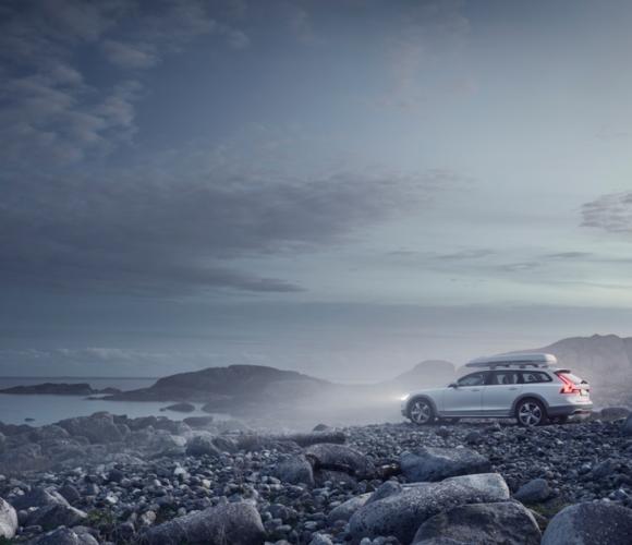 Der Tiefseetaucher und der Volvo V90
