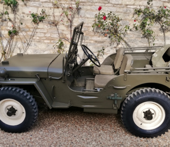 Steve McQueen Willys Jeep Auction