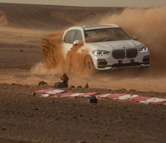 BMW X5 Monza in der Sahara