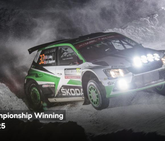 Skoda Motorsport Fabia R5 WRC 2 Champion