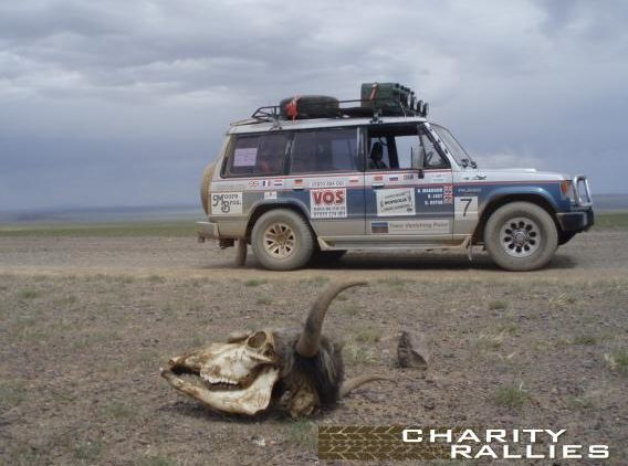 Mongolia Charity Rally Jeep