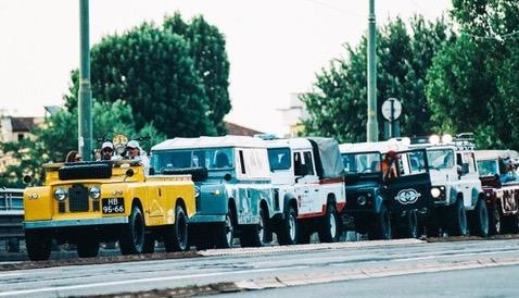 Land Rover Serie 2A 1966 Deus Ex Machina und Cool 'n' Vintage