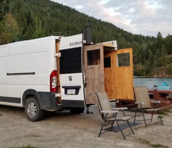 Fiat Ducato mit Sauna-Ausbau – eine heisse Kiste für die kalten Tage