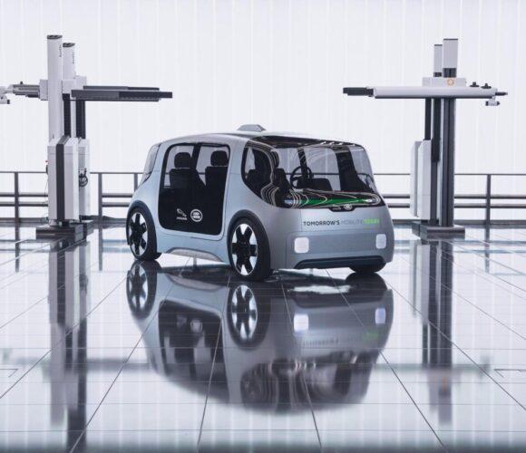 Jaguar Land Rover Vector: Selbstfahrende Fahrzeug für den Nahverkehr