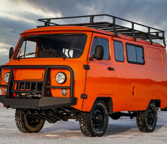 UAZ SGR Combi Expedition Van